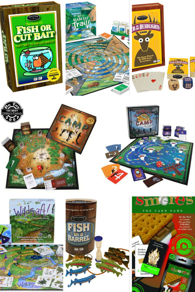 11 Family board games with an outdoor theme