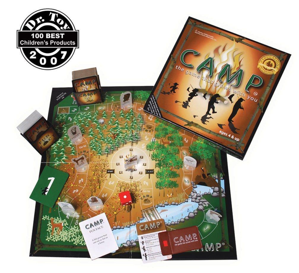 camp board game