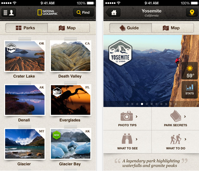 33 Outdoor Apps to Get Kids into Nature National Geographic Park App