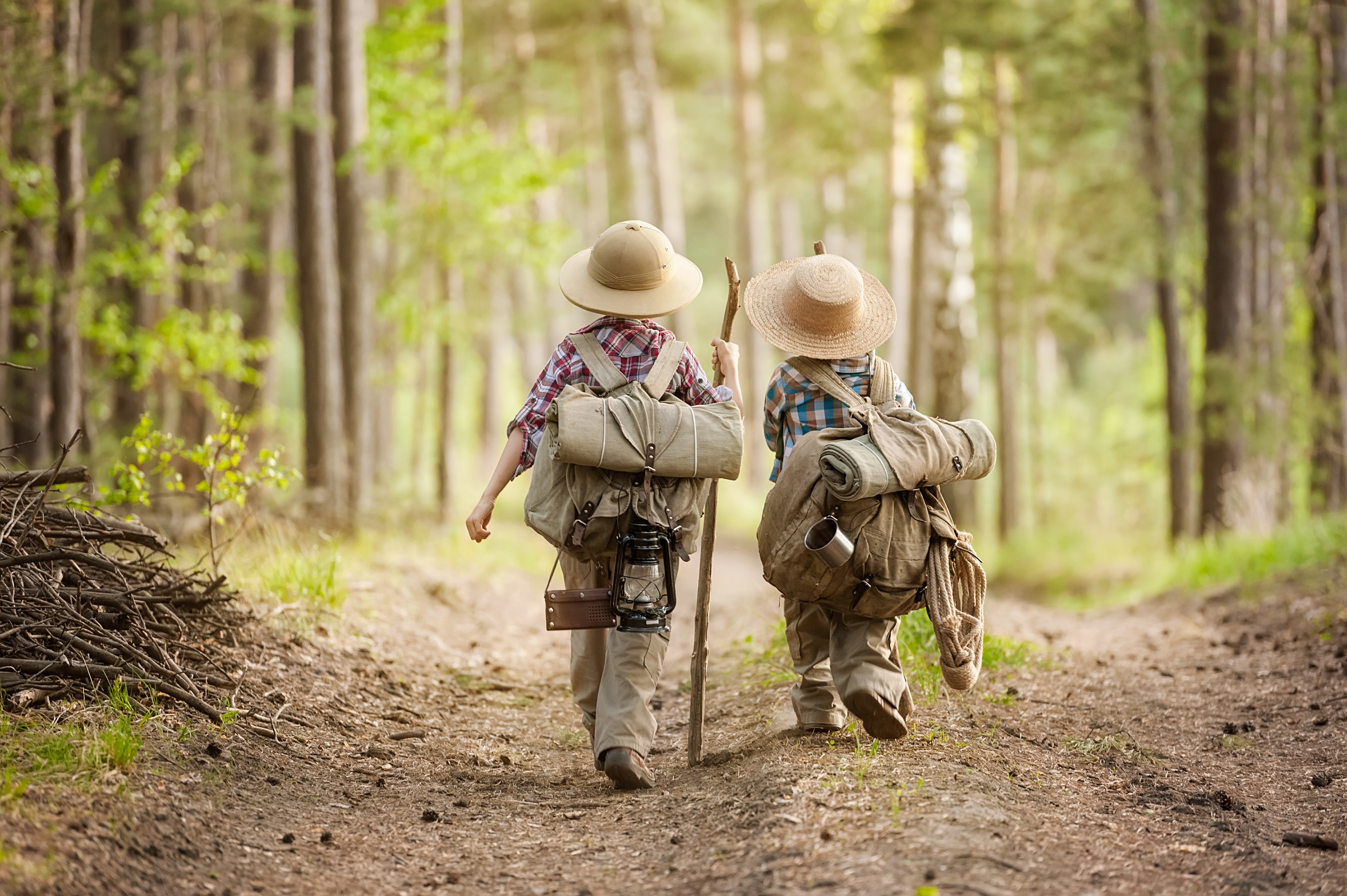 Image result for kid hiking