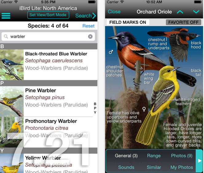 33 Outdoor Apps to Get Kids into Nature iBird Guide