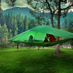Camping in the Air: New Treehouse Tents and Hammocks by Tentsile