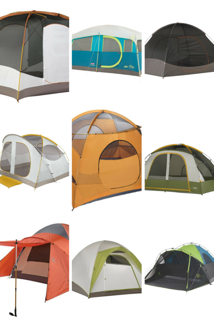 6-PERSON FAMILY TENTS