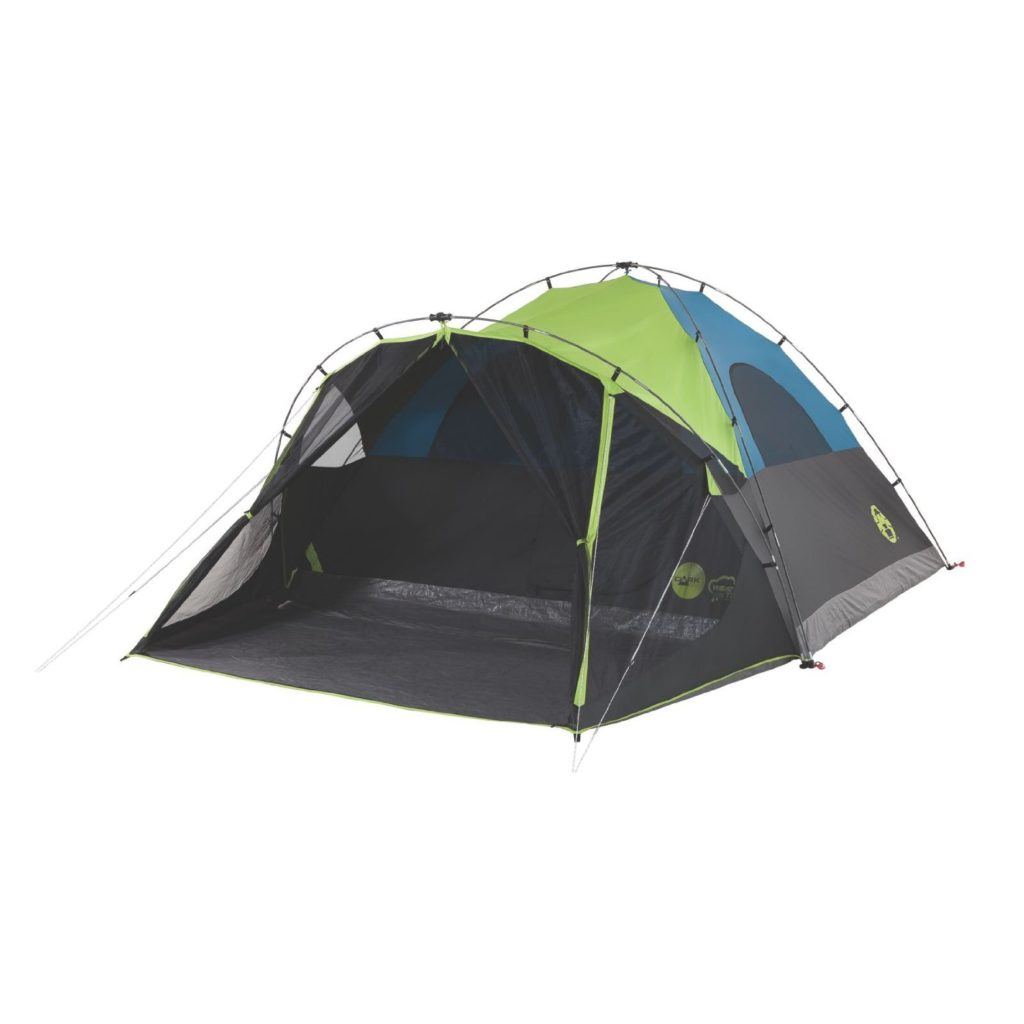 Coleman CARLSBAD™ FAST PITCH™ FAST PITCH TENT WITH SCREEN ROOM Best 6-Person Family Tent