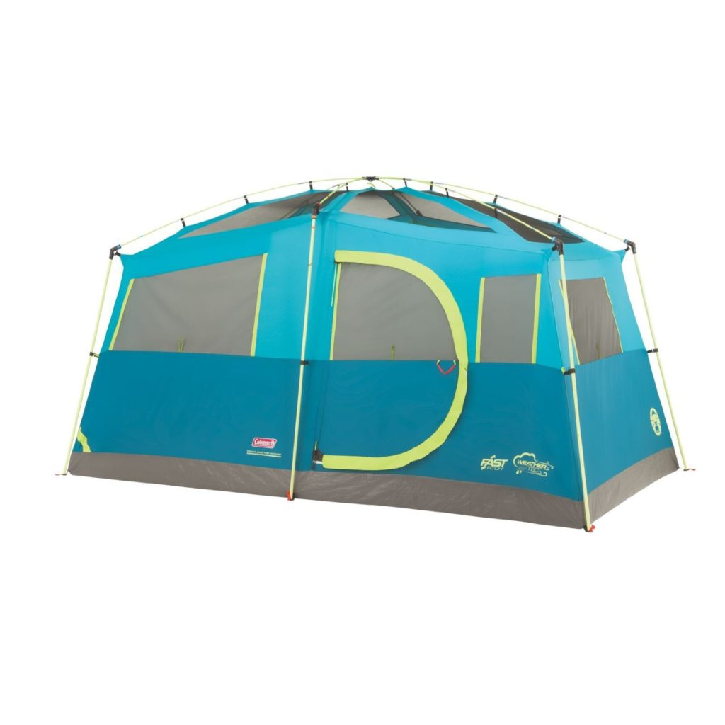 Coleman TENAYA LAKE™ 6P FAST PITCH™ CABIN WITH CABINETS Best 6-Person Family Tents