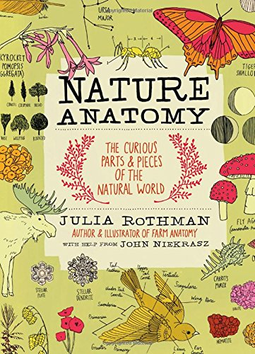 Nature Anatomy: The Curious Parts and Pieces of the Natural World Paperback by Julia Rothman Nature Books for Kids