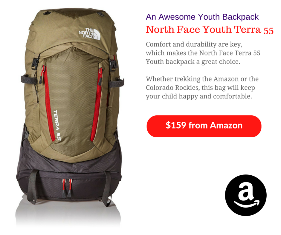 North Face Youth Terra 55 Youth Backpack