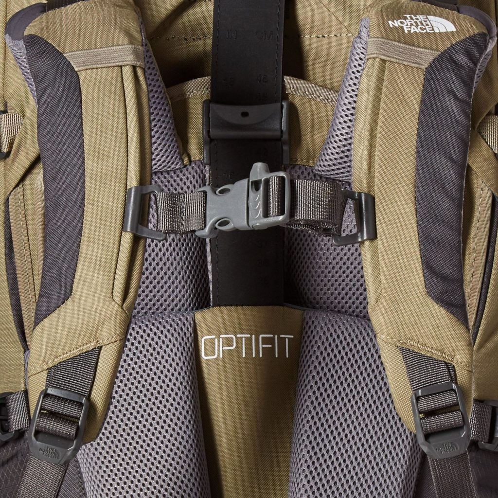 The North Face Terra 55 Youth Backpack Optifit technology