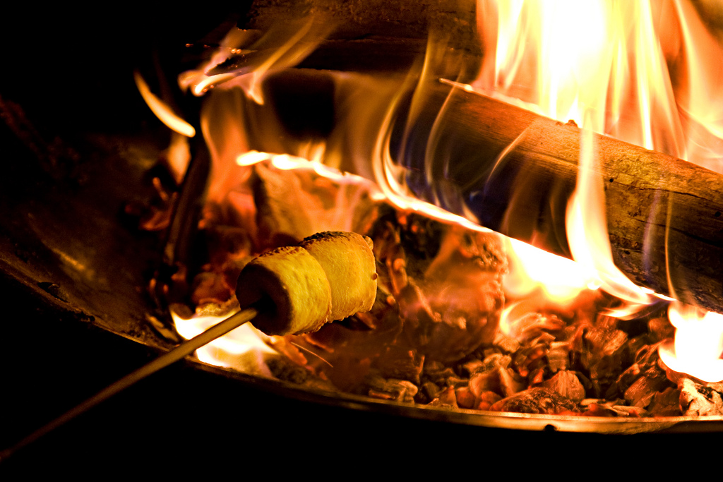 How To Roast A Perfect Marshmallow Over A Campfire